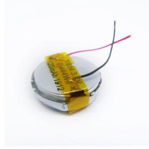 LiPO Customized Battery 1654 3.7V 120mAh