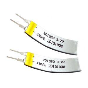 LiPO Customized Battery 3.7V 43mAH